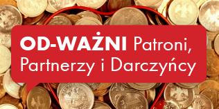 Partnerzy, Sponsorzy, Darczyńcy